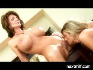 mature housewives doing it is lesbo style