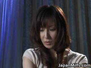 greatly concupiscent japanese milfs engulfing
