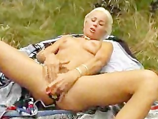 euro doxy loves her dildos