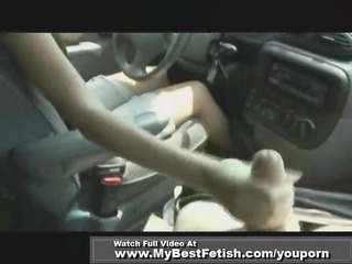 cook jerking while driving
