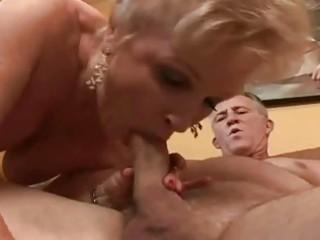 big beautiful woman granny getting her fur pie