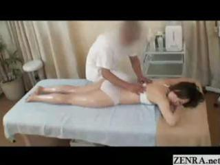 all hands on sensual oil massage with horny japan