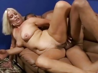 bigtits granny bent over and drilled doggy