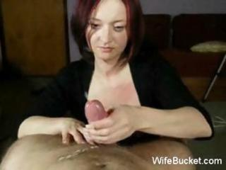 mother i wife gives great handjobs