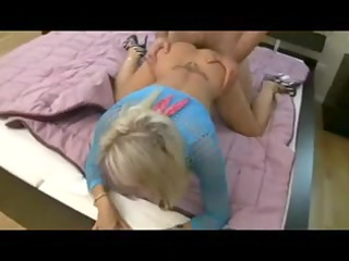 milf cum-hole fisted and oral-job