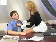 Russian cute milf bridget &_ clifford (boss)4