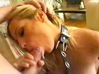 Blonde MILF receives a hard facefuck