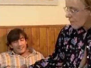 granny got her bushy old ass anal screwed
