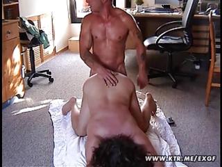 bulky dilettante wife screwed on the floor
