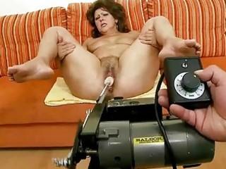 lusty granny doing blowjob and riding shlong
