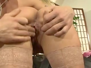 Hawt German Mommy Fucking On The Daybed
