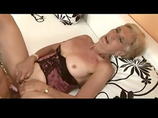 hairy golden-haired granny is a whore by troc