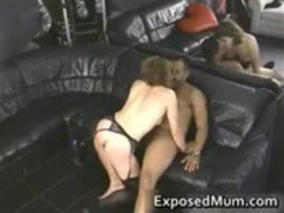 hot mamma riding and humping black dong