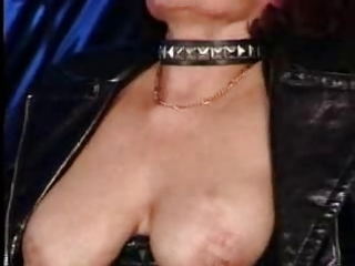hawt pierced granny sucks and bonks