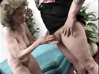 oldest great granny gigi - hairy