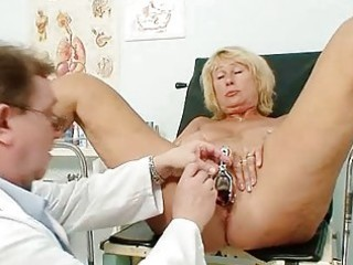 hot breasty granny melons and cum-hole gyno