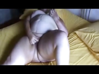 naughty granny fingering pussy. amateur