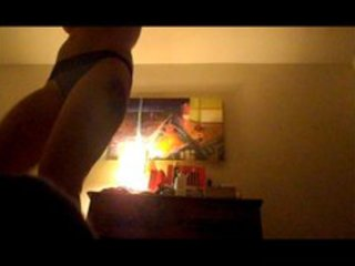 Shy wife reluctly strips