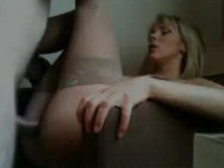 milf takes giant cumshot on her glasses -