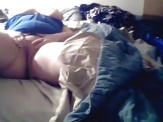 webcam big beautiful woman milf masturbates on