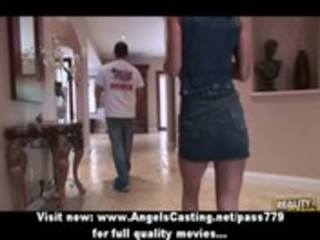 bored milf in hot underclothes does blowjob and