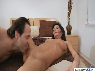 Horny Big Tit Milf Craves Hot Cum