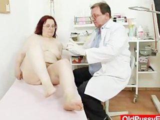 hairy grandma enema during a medical exam