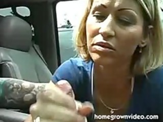 horny mommy give a nice handjob