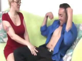 d like to fuck in spex tugs cock for lucky guy