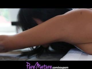 puremature flexible mother i latina has anal