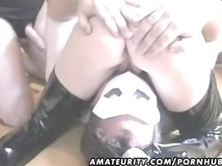 amateur housewife homemade bang action