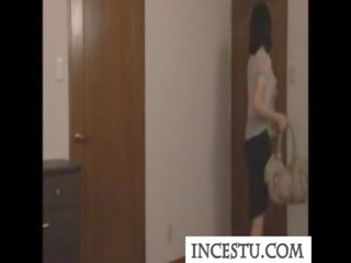 Japanese mom and son at incestu.com