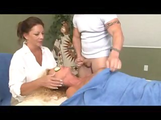 specific massage for blond aged