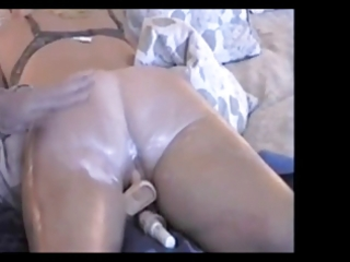 mature wife enjoys a little sex-toy insertion