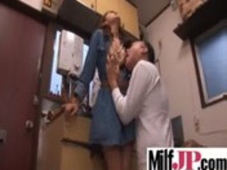 japanese asians milfs acquire hard drilled