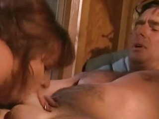 horny wife sucking and fucking her spouse