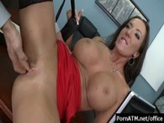 bigtitsatwork - sexy office milfs getting rough