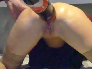 movie of a granny doing eager anal
