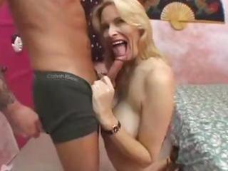 busty mature golden-haired acquires fucked hard