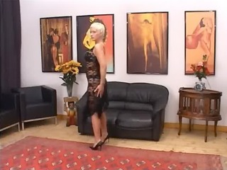 blondie older having bawdy cleft fisted hard