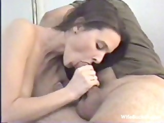 wild jade swallows her husbands hard-on and then