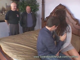 brunette hair cowgirl spanked during the time