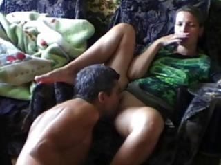 horny non-professional wife acquires cum-hole