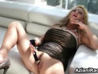 golden-haired cougar mamma with her huge part6