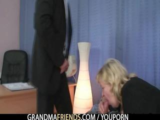 large grandma pleases rods