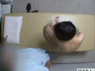 Bashful japan milf strips nude for unorthodox