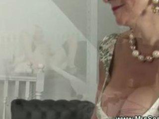 aged eurotrash screwed with sex machine