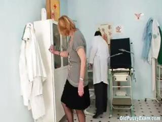 redhead granny receives her twat stretched out