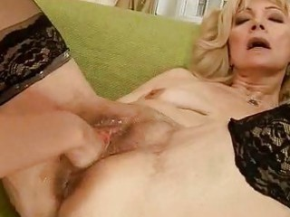 lascivious granny getting fisted