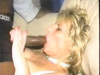blonde wife cheats her spouse with monstrous